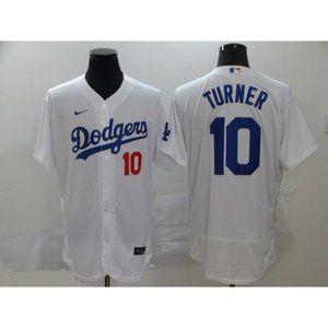 LA Dodgers Justin Turner White Elite Jersey